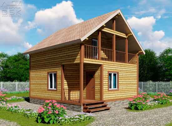 Гостевой дом с баней «Брусово»