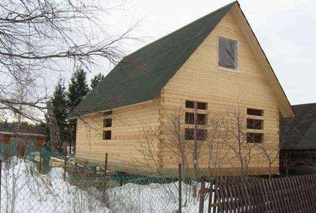 Грамотная консервация домов из бруса на зиму - 3