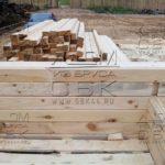 Строительство дома из профилированного бруса - качественный материал из костромы