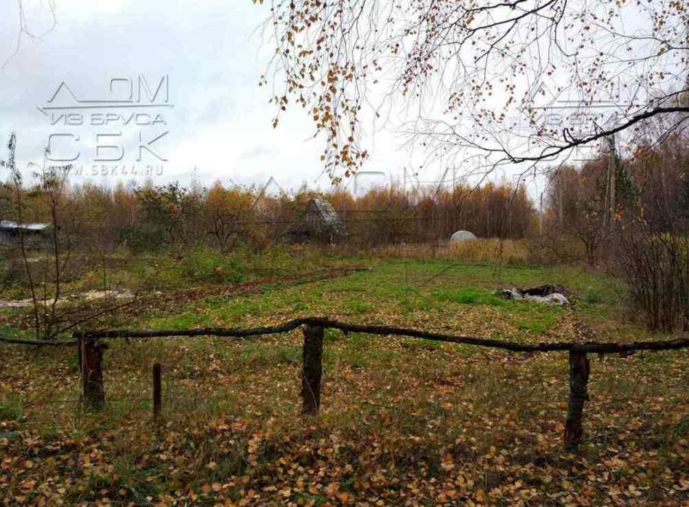 участок под строительство дома из бруса Кострома