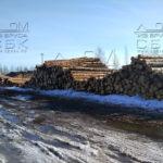 Производство домокомплектов из оцилиндрованного бревна - запасы зимнего леса под строительство домов