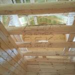 Дом 9 на 6 из профилированного бруса - балки 100 х 150, шаг 600мм