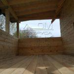 Дом из профилированного бруса 6 х 9 с просторной террасой