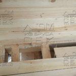 Дом из профилированного бруса 6 х 9 с просторной террасой - балки через 58 см