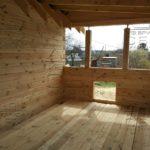 Дом из профилированного бруса 6 х 9 с просторной террасой 3 х 6