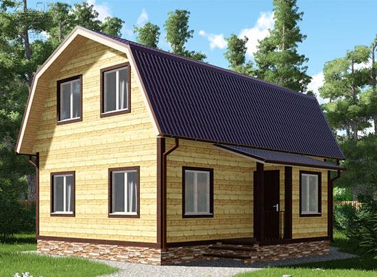 Обложка проекта дома 7,5 х 9 Акулово
