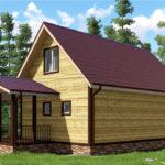 Проект дома 7-х-11,5 Борцово-(3)