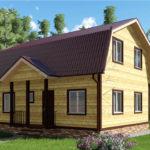 Проект дома 8 х 9 Глазово