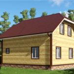 Проект дома 8,5 х 10 Жуково