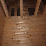 Межэтажные балки (2 эт) - Дом из профилированного бруса 195х145 с эркером Чернопенье