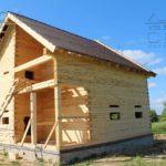 Дом 8,5 х 8,5 м с балконом в жилом комплексе «Экоград» под Костромой (31)