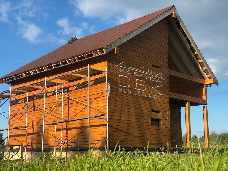 Дома из профилированного бруса от производителя СБК 44