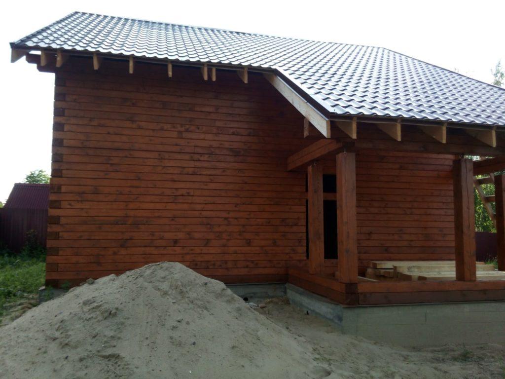 Как правильно подобрать краску для деревянного дома из бруса (6)
