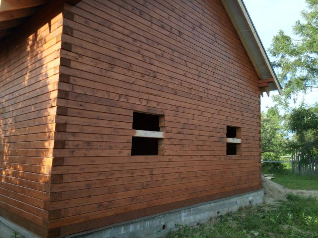 Как правильно подобрать краску для деревянного дома из бруса (7)