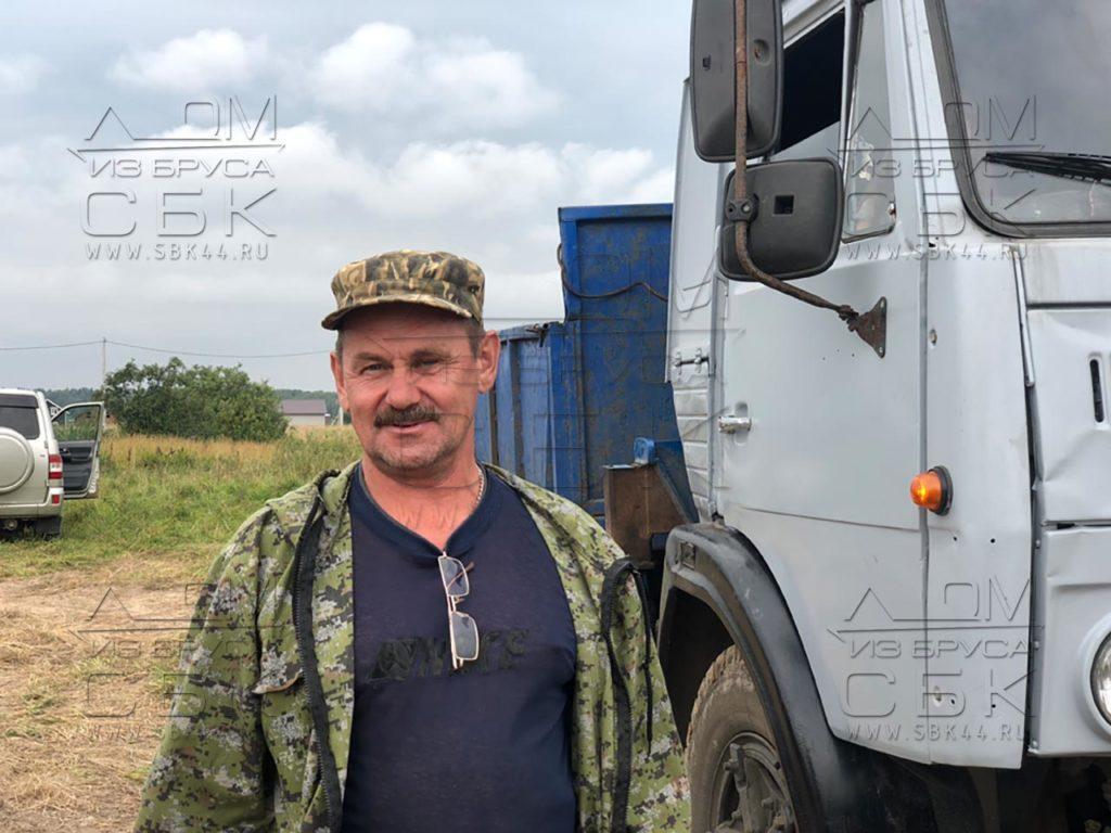 Разгрузка домокомплекта из профилированного бруса г. Тутаев - мини (3)