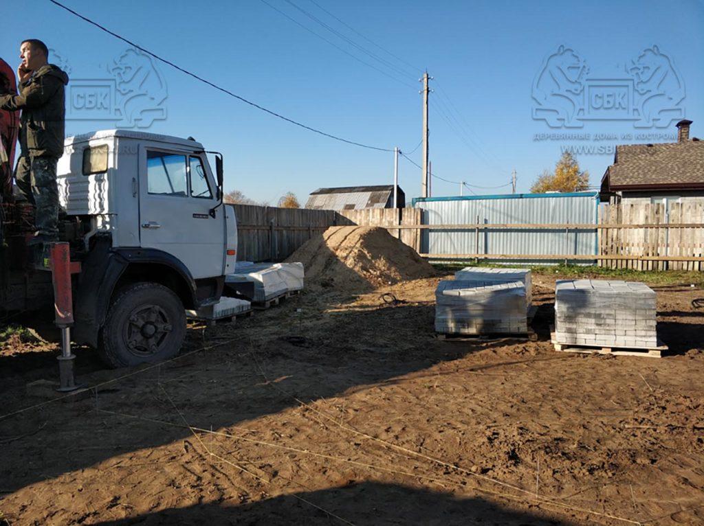 Благоустройство участка у купольного дома Добросфера z - 8 в Костроме (фото 1)