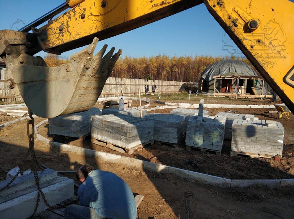 Благоустройство участка у купольного дома Добросфера z - 8 в Костроме (фото 11)
