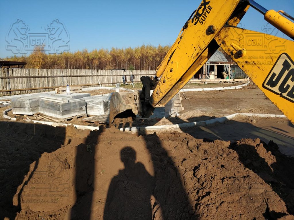 Благоустройство участка у купольного дома Добросфера z - 8 в Костроме (фото 13)