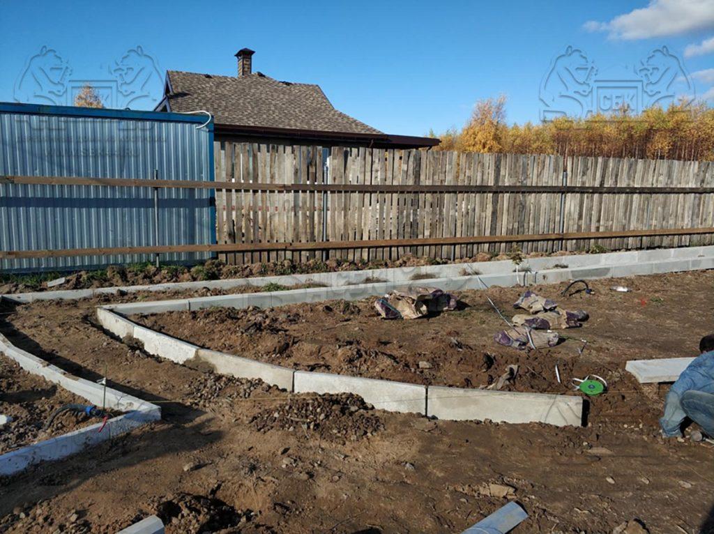 Благоустройство участка у купольного дома Добросфера z - 8 в Костроме (фото 6)