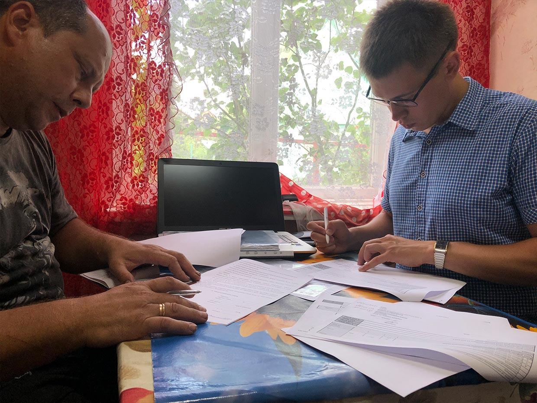 Подписание договора на строительство дома 9 на 9 из профилированного бруса в г. Тутаев - фото