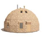 каркас купольного дома z10