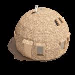 каркас купольного дома z8
