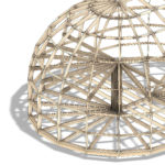 удлиненный высокий каркас купольного дома z10hl