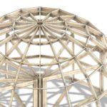 высокий купольный каркас z8h 2 этажа