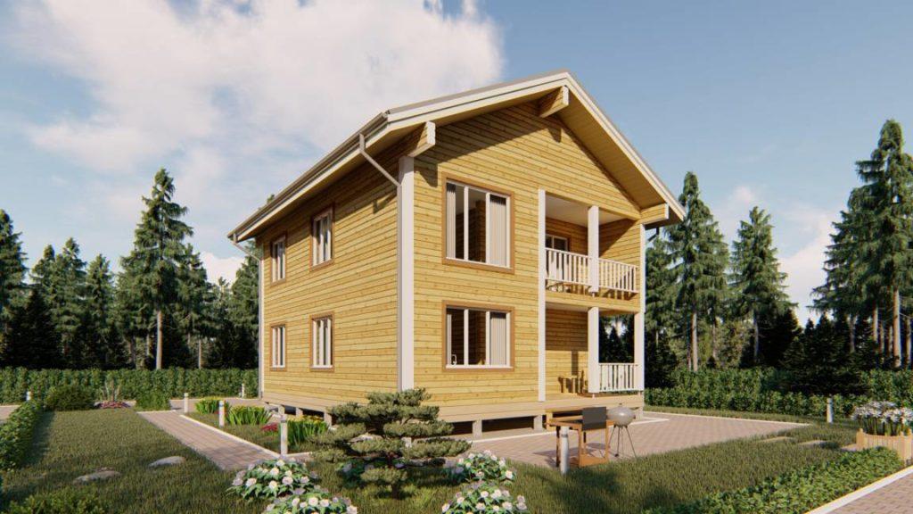 Строительная компания домов из бруса - СБК 44 (2)
