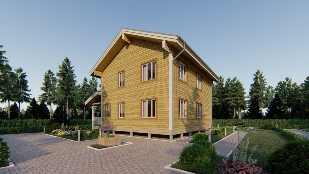 Строительная компания домов из бруса - СБК 44 (3)