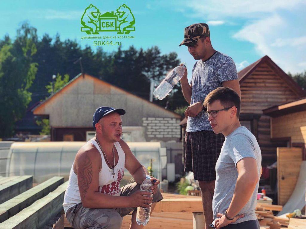 Опытные русские бригады Костромских плотников компании СБК 44 Кострома (11)