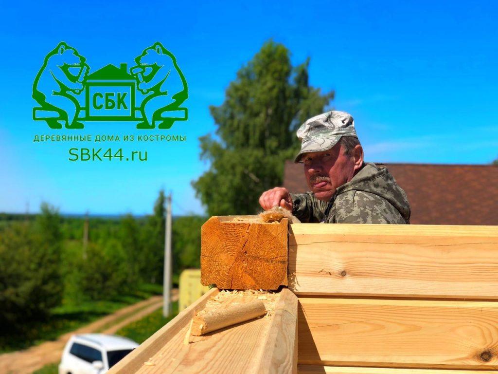 Опытные русские бригады Костромских плотников компании СБК 44 Кострома (14)