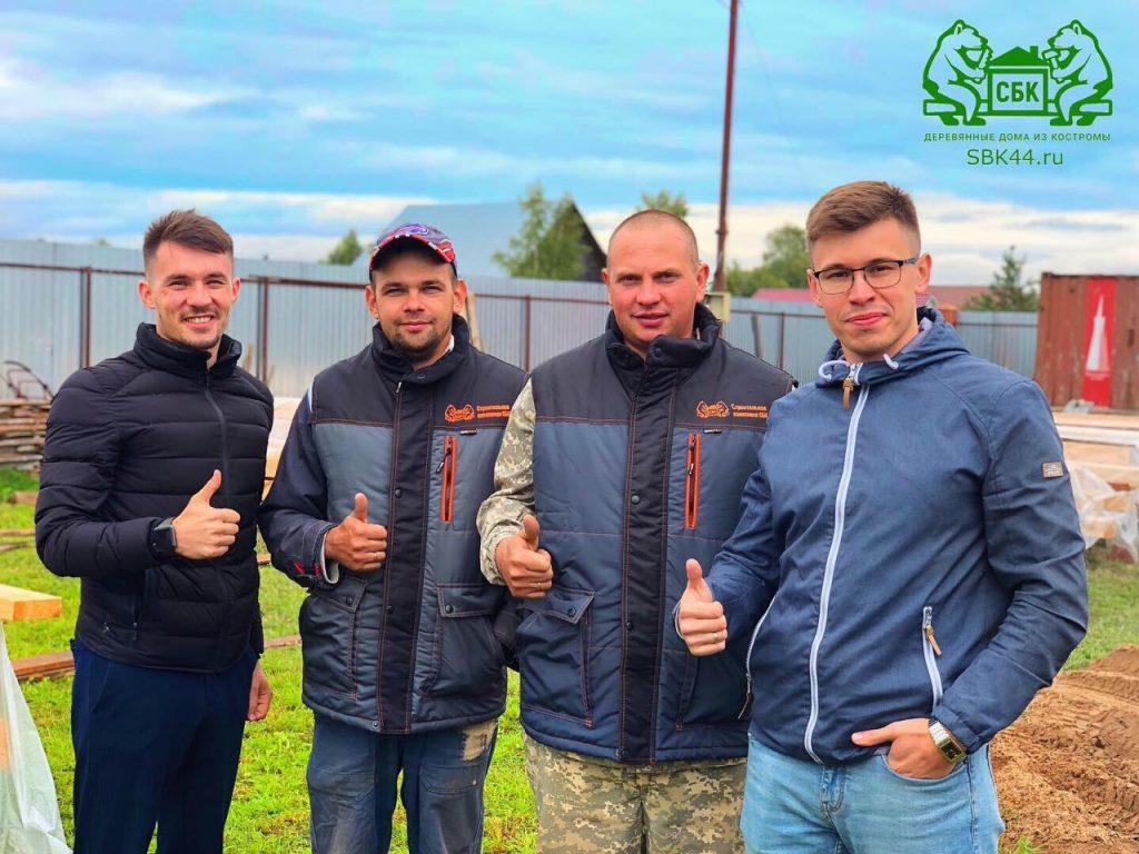 Опытные русские бригады Костромских плотников компании СБК 44 Кострома (6)
