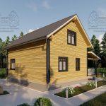 Дом из бруса 1.5 этажа - Владимировка (4)