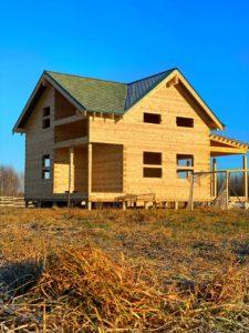 Дом из бруса камерной сушки в Костроме (1)