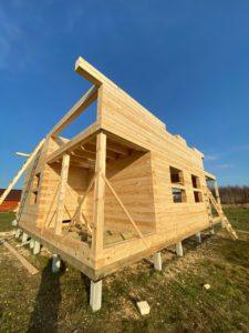 Дом из бруса камерной сушки в Костроме (13)