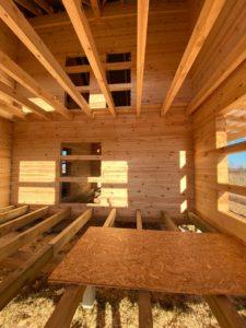 Дом из бруса камерной сушки в Костроме (15)