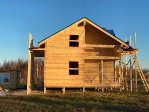 Дом из бруса камерной сушки в Костроме (8)
