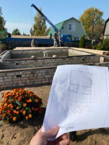 Строительство дома 6 х 7 из профилированного бруса в Костроме Борщино (10)