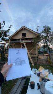 Строительство дома 6 х 7 из профилированного бруса в Костроме Борщино (2)