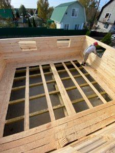 Строительство дома 6 х 7 из профилированного бруса в Костроме Борщино (5)