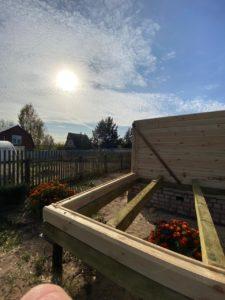 Строительство дома 6 х 7 из профилированного бруса в Костроме Борщино (6)