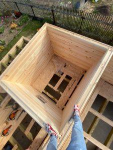 Строительство дома 6 х 7 из профилированного бруса в Костроме Борщино (7)