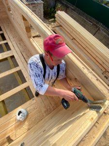 Строительство дома 6 х 7 из профилированного бруса в Костроме Борщино (8)
